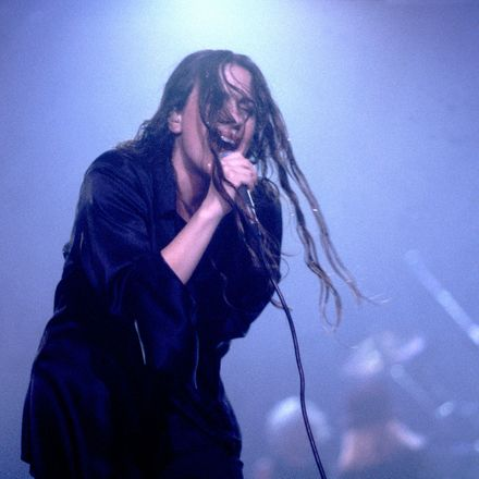 Alanis Morissette on 12/20/95 in Chicago, Il.