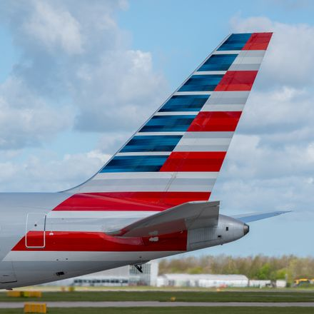 american airlines boeing 767 tail shutterstock 275381750