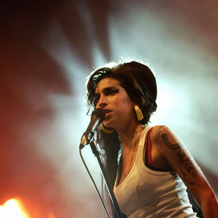 British singer Amy Winehouse performs on stage, 29 June 2007 during the Eurockeennes Music Festival in Belfort, Eastern France