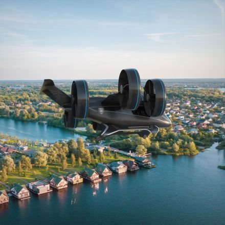 bell flying taxi for uber press handout from bell