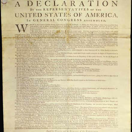 declaration of independence us national archives