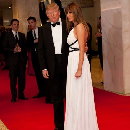 donald trump and melania at whca dinner shutterstock 76300927