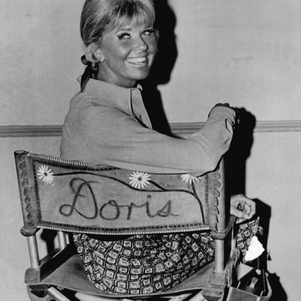 doris day on television show set