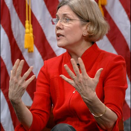 elizabeth warren us treasury dept photo