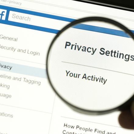 facebook magnifying glass on privacy shutterstock 1066441847