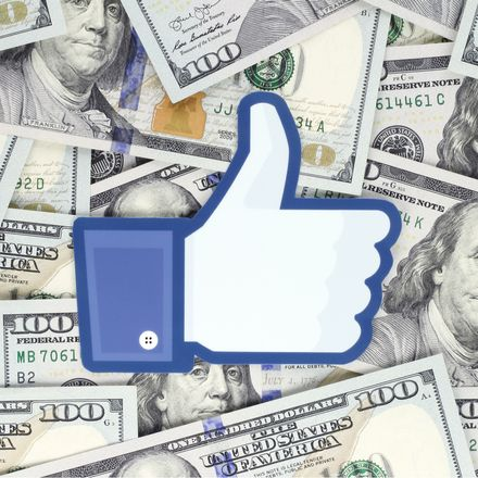 facebook money shutterstock 1196540791