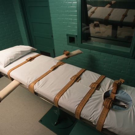 A Texas lethal injection chamber