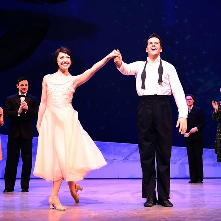 The cast of 'An American in Paris'