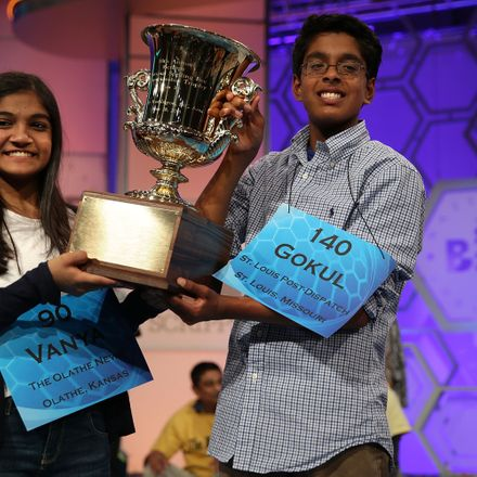 The two Spelling Bee champions