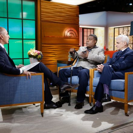 Tracy Morgan Makes First Public Appearance