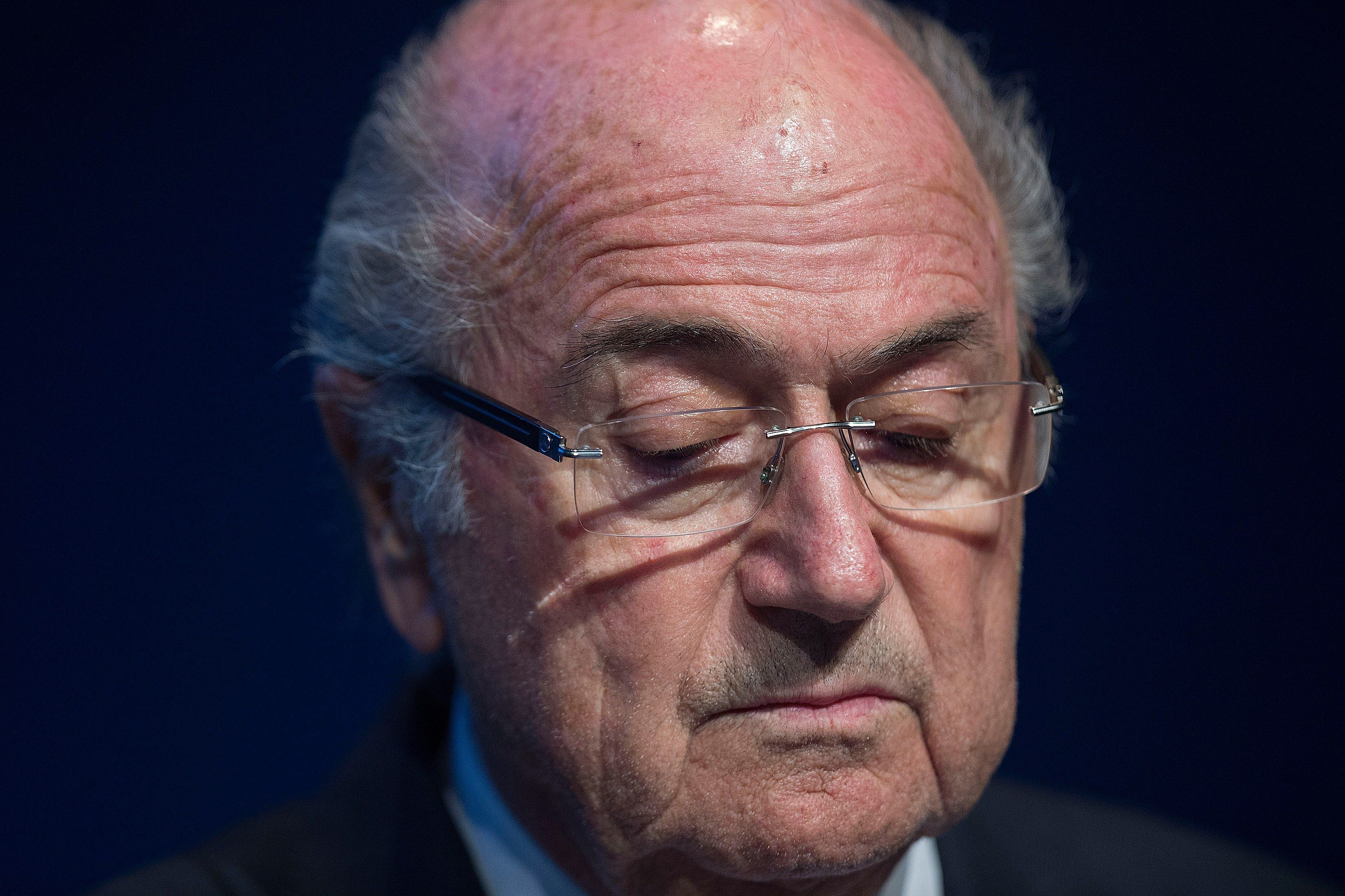 Sepp Blatter Steps Down