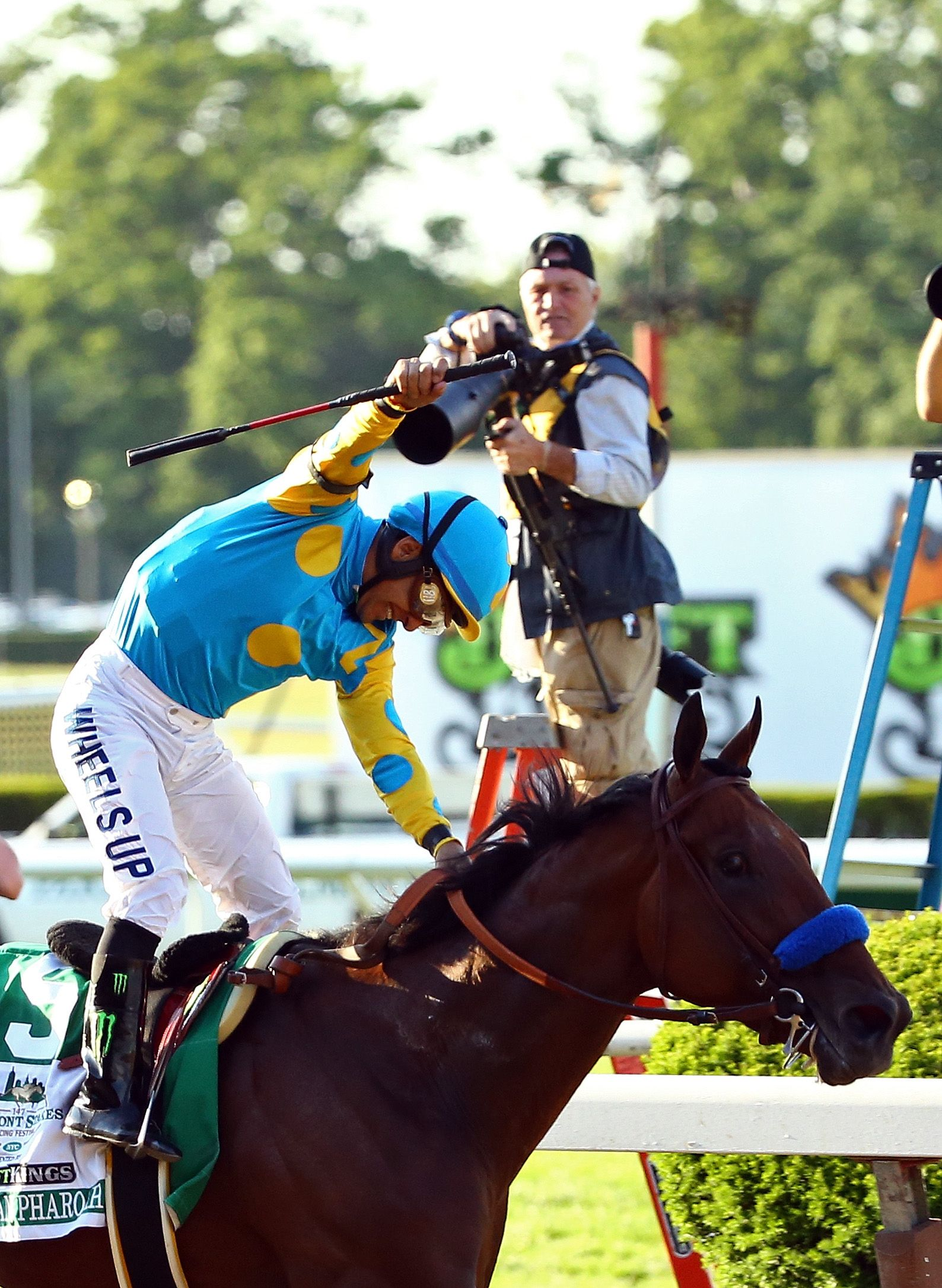 America Pharoah Wins Triple Crown