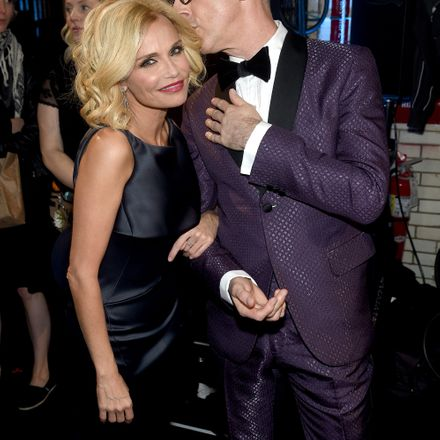 Kristin Chenoweth and Alan Cumming