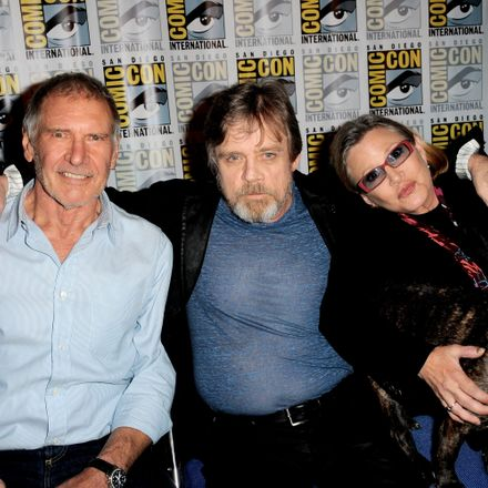 Harrison Ford Appears at Comic-Con