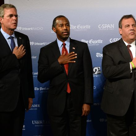 Ben Carson and Chris Christie