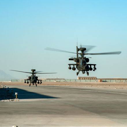 helicopters in helmand province afghanistan shutterstock 1226913847