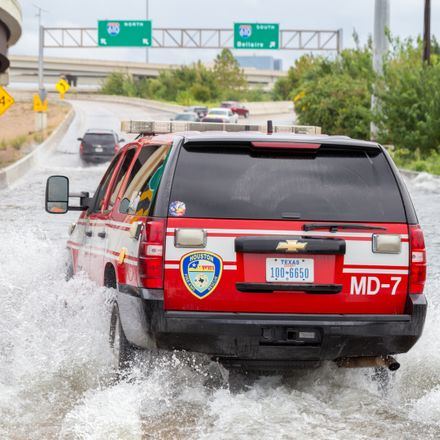 hurricane harvey houston rescue vehicle shutterstock 703949977
