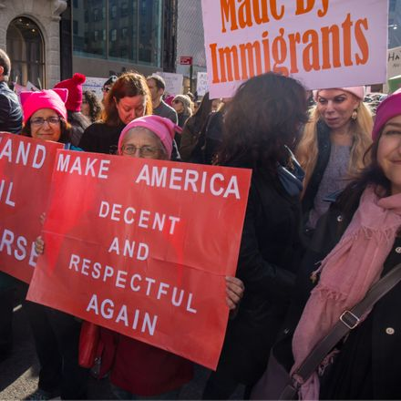 immigration protesters shutterstock 562810579