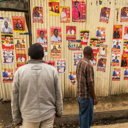 kenya election posters shutterstock 633955448