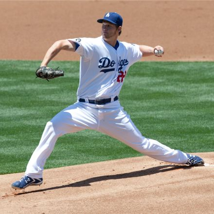 la dodgers pitcher clayton kershaw shutterstock 99187898