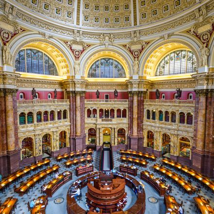library of congress reading room shutterstock 269901899