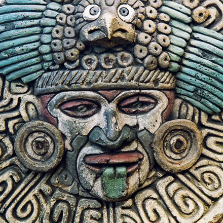 mayan stone carving shutterstock 286804088