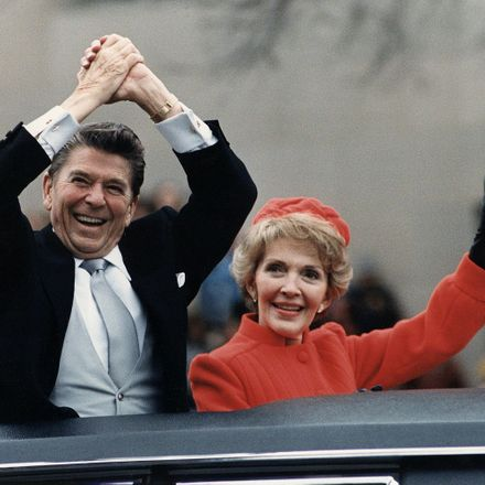 nancy and ronald reagan in 1981