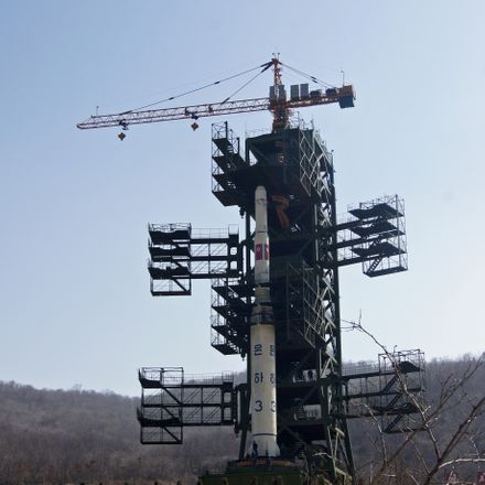 north korean ballistic missile launch pad shutterstock 464575163