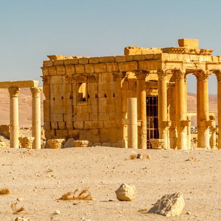 palmyra temple of baal shutterstock 154250867