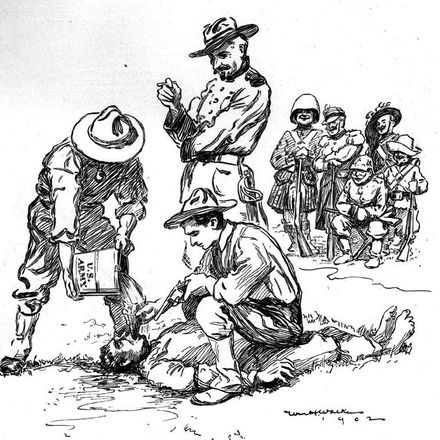 philippines us soldiers torture filipino life magazine 05 22 1902 square wikimedia commons