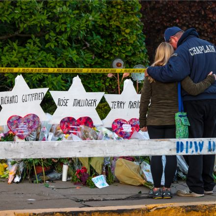 pittsburgh synagogue shooting memorial shutterstock 1216488049