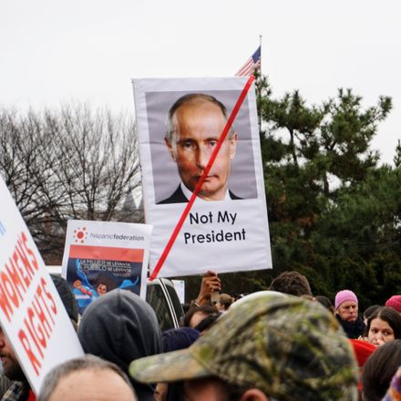 putin not my president protest sign shutterstock 581759461