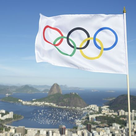 rio olympics panorama and flag shutterstock 268510133
