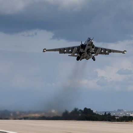 russian jet in syria rf defense ministry