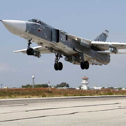 russian warplane in syria russian federation ministry of defense