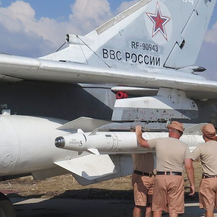 russian warplane loaded in syria russian federation ministry of defense