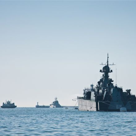 russian warships crimea shutterstock 796776382