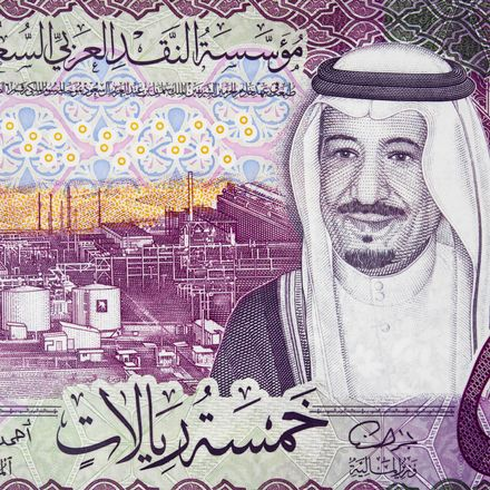 saudi king currency portrait shutterstock