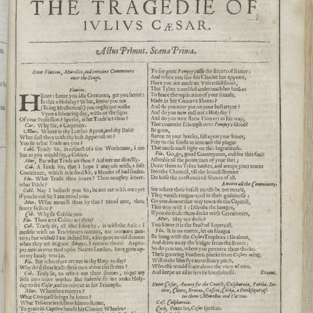 shakespeare julius caesar 2nd folio title page folger wikimedia commons
