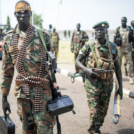 south sudan soldiers shutterstock 287374589