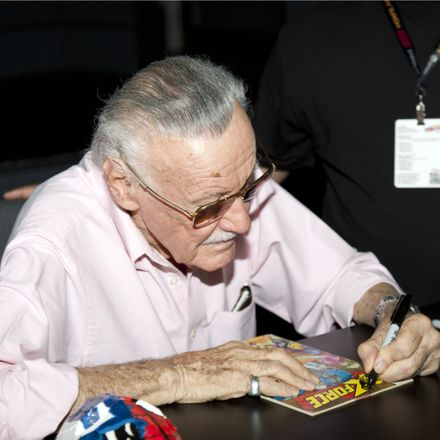 stan lee of marvel square shutterstock 86648998
