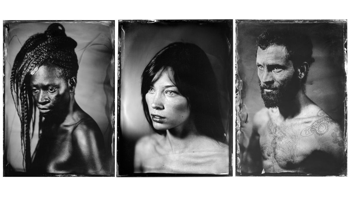 A series of portraits.
