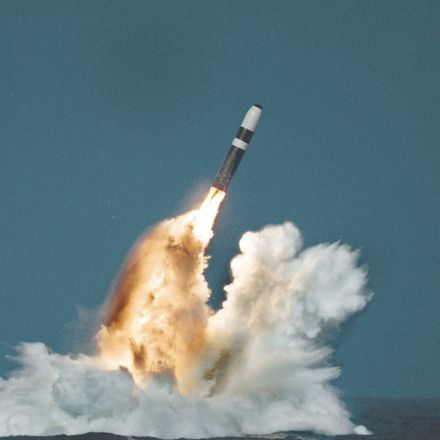 trident ii missile launch us do d
