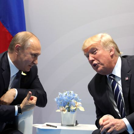 trump putin leaning in during first meeting at g 20 in hamburg russian office of the president