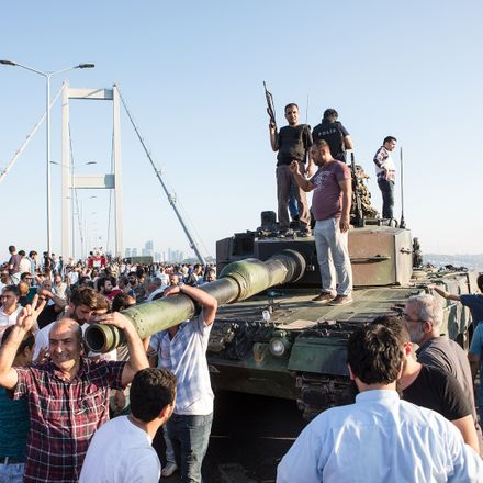 turkey coup attempt tank in istanbul shutterstock 453061138
