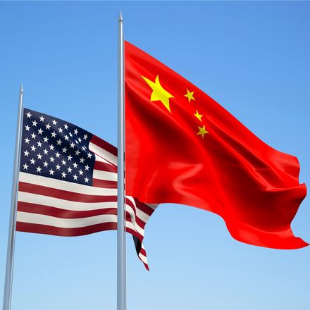 us and china flags shutterstock 290488592