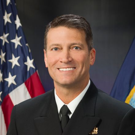 white house physician ronny jackson white house photo crop