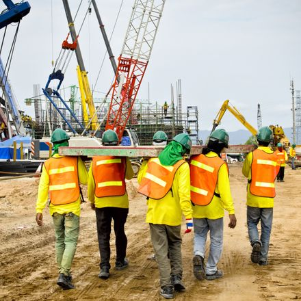 construction workers going to work shutterstock 126983117