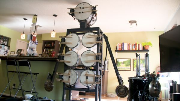 Life, Interrupted: The Man Who Created a Robot Drummer