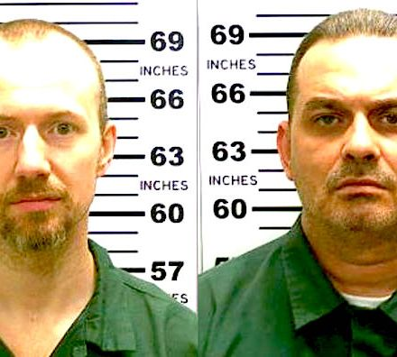 Murderers David Sweat, left, and Richard Matt.